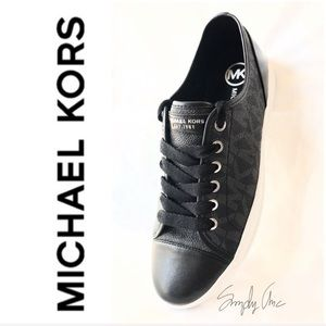 NEW authentic MK monogram city fashion sneakers